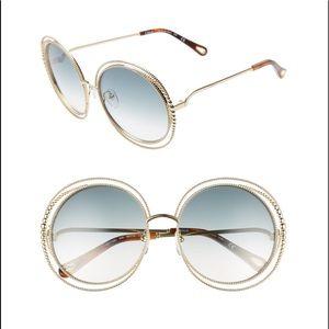Carlina 58mm Round Sunglasses CHLOÉ $475.00